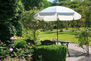 Sombrillas de jardín