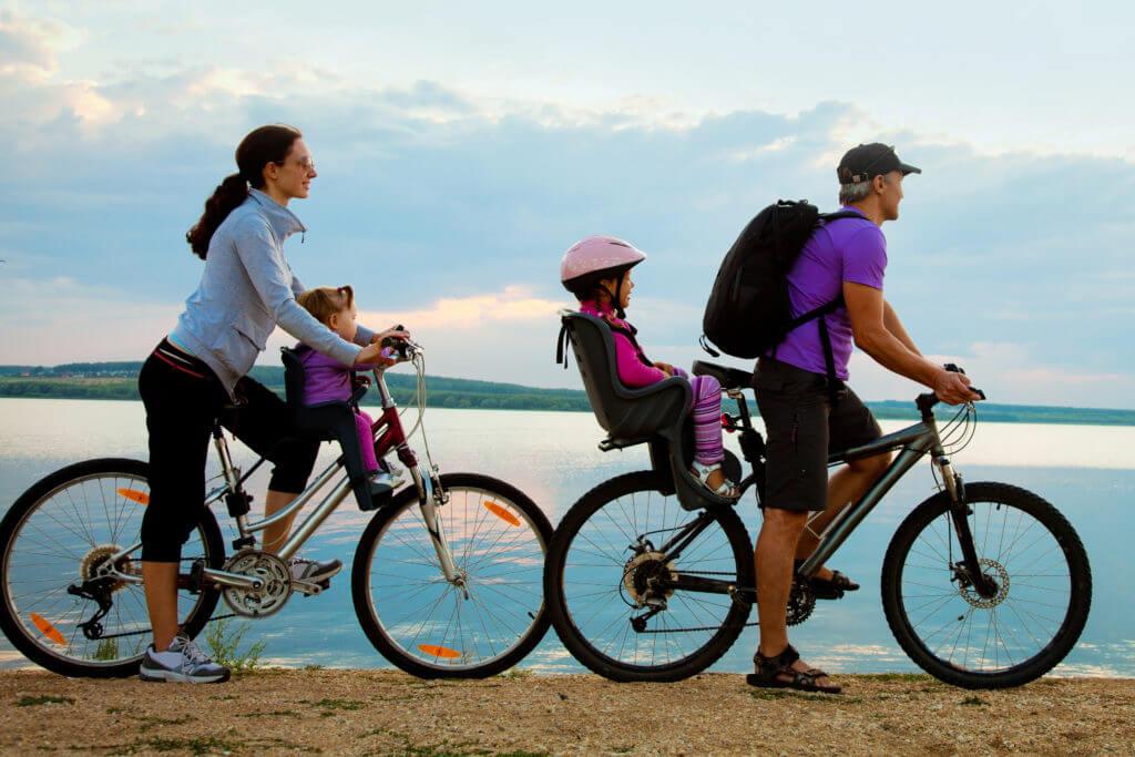 Asiento de bicicleta para niños